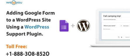 Adding Google Forms To a WordPress Site Using a WordPress Support Plugin