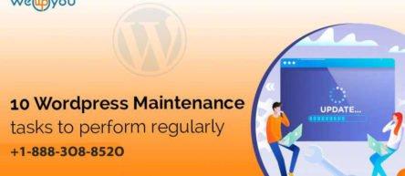 10 WordPress Maintenance tasks to Perform Regularly
