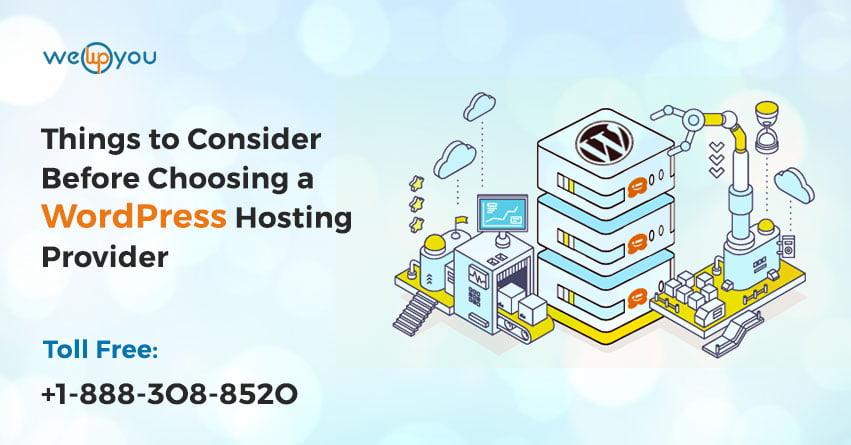 Choosing a WordPress Hosting Provider