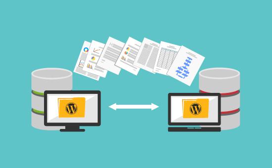 move WordPress to new host