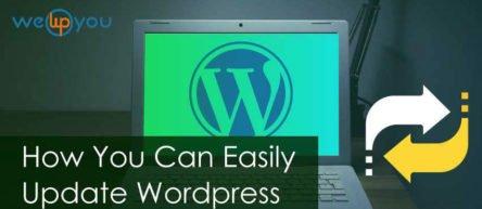 How to Easily Update WordPress