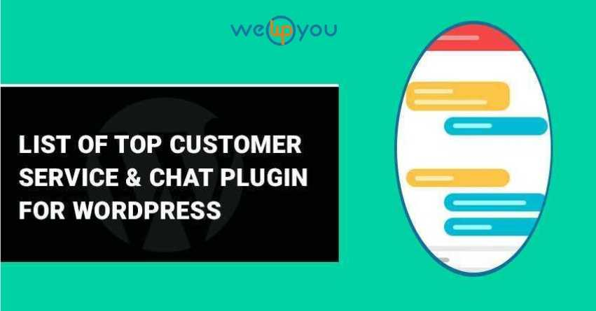 List of top Customer Service & Chat Plugin for WordPress - wewpyou