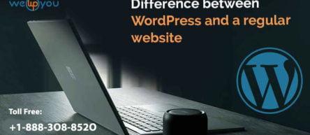 Difference between WordPress and a regular website