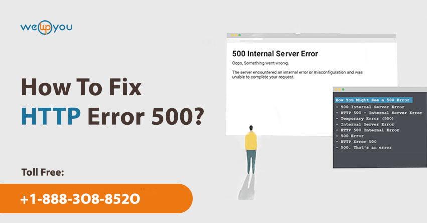 How To Fix HTTP Error 500