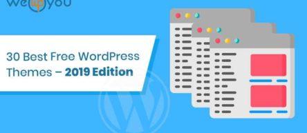 30 Best Free WordPress Themes – 2019 Edition