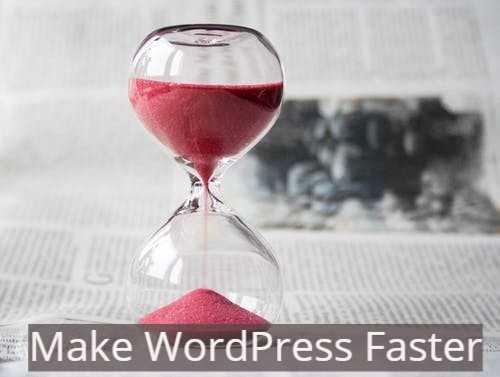 Make WordPress Faster