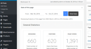 Check your analytics and tracking features