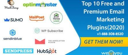 Top 10 Free and Premium WordPress Email Marketing Plugins