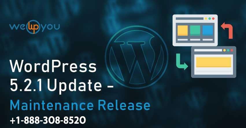 WordPress 5.2.1 Update