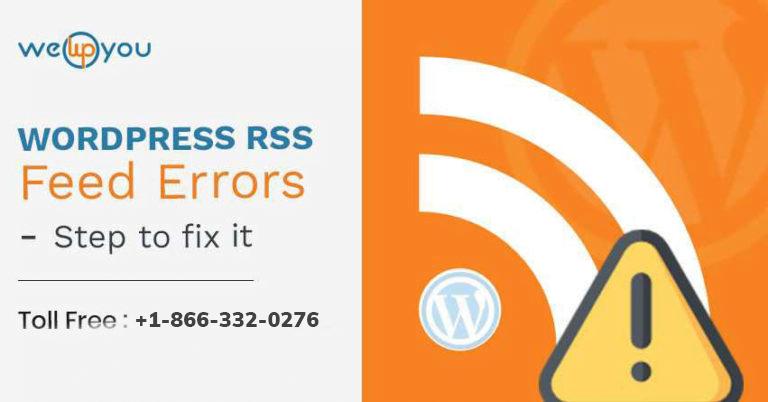 WordPress RSS feed not working