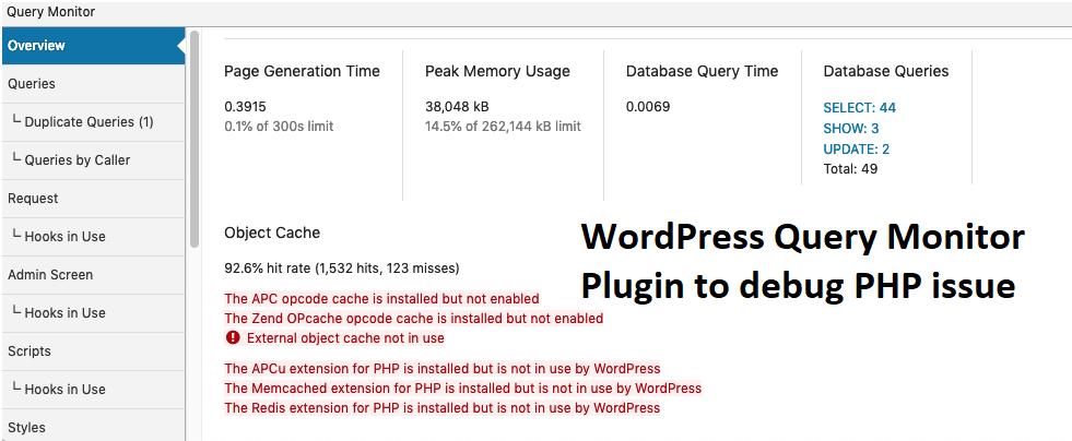 PHP error logs