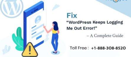 WordPress Keeps Logging Me Out Error