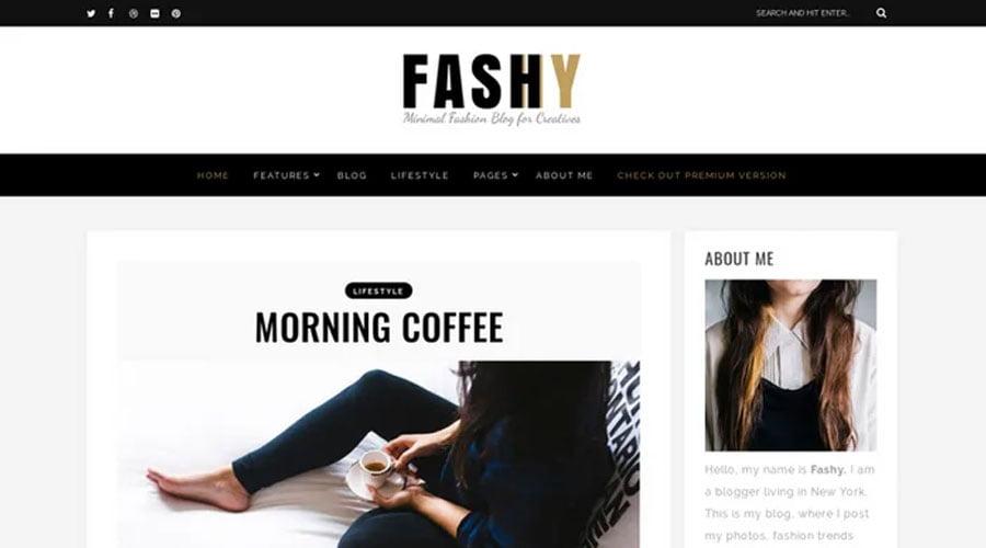 Fashy wp theme