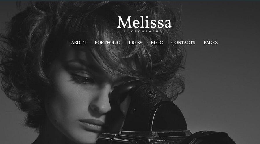 melissa wp theme