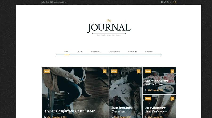 Journal wp theme