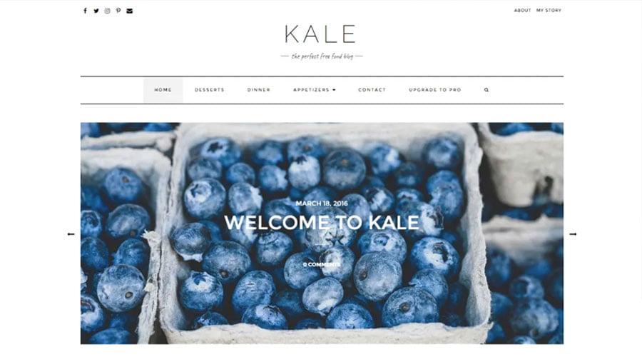 Kale wp theme