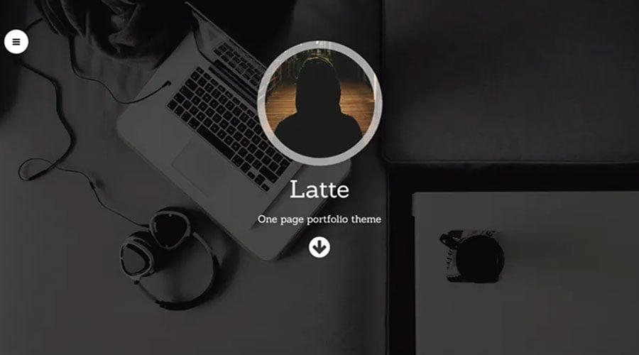 Latte wp theme