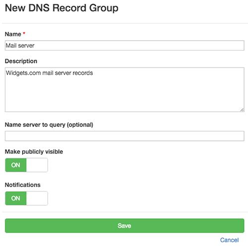 Check for DNS