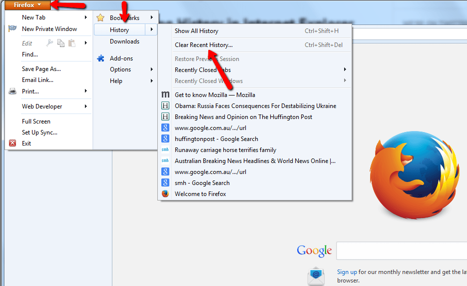 Mozilla-Firefox-Clear-Recent-History