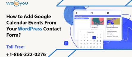 Google calendar events WordPress